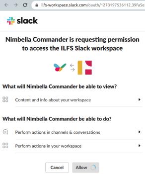 Install Nimbella Commander