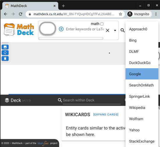MathDeck UI