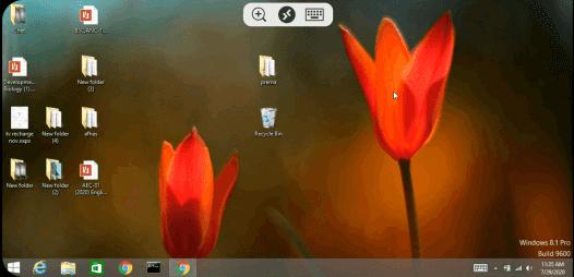 Microsoft Remote Desktop Virtual Desktop from Phone