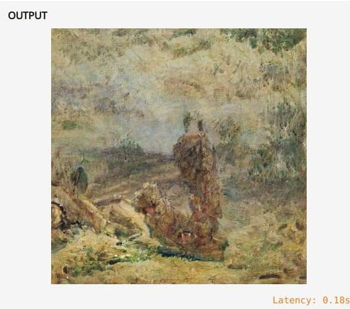 Paintings Generator to Create Paintings of Famous Painters by AI
