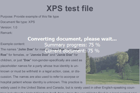 XPS to Word Converter software