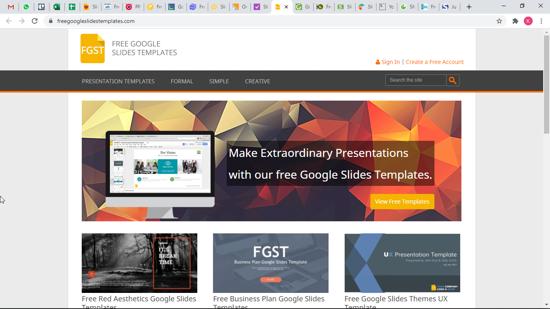 Free Google Slides Templates