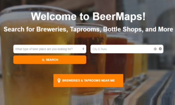 Search Local Craft Breweries, Taprooms, Bottle Shops with BeerMaps