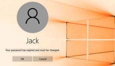 disable password expiration windows 10