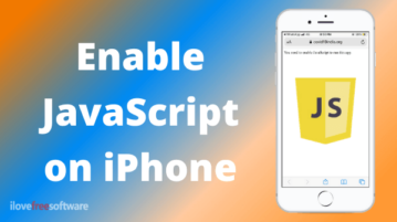 How to Enable JavaScript on iPhone?