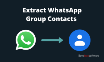 How to Extract All WhatsApp Group Contacts at Once?