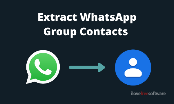 How to Extract Contacts of All Participants in a WhatsApp Group?