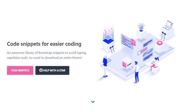 Free Bootstrap Code Snippets For Ready to Use Components