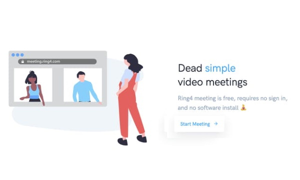 Free P2P Video Conferencing with Screen Sharing, No Software Required