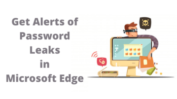 How to Get Alerts of Password Leaks in Microsoft Edge?