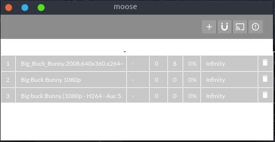 moose UI