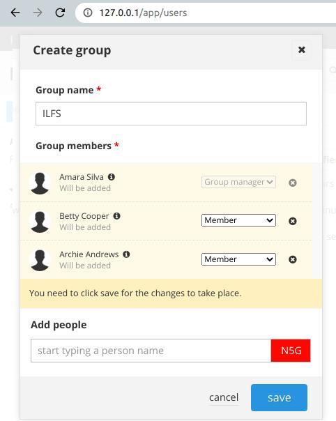 passbolt create group