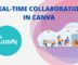 How to Collaborate in Real-time in Canva?