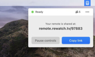 Share Presentation Controls with Anyone in Seconds