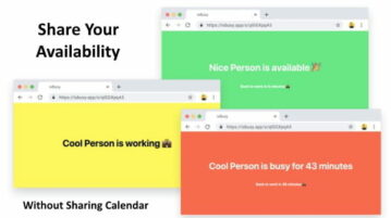 Create a Personal Status Page to Let Know When You Are Available