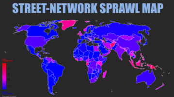 Free Global Sprawl Map to Check Street Connectivity