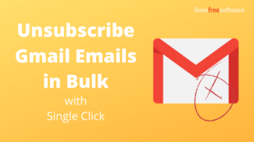 How to Unsubscribe Gmail Emails in Bulk with 1-Click?