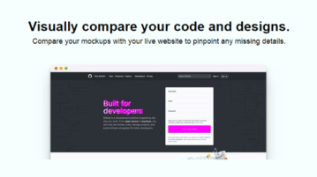 Visually Compare Mockups with Live Websites to Find Design Flaws