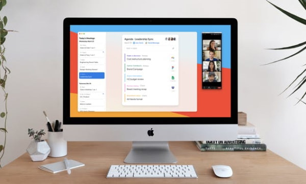 Free Workspace for Remote Meetings to Share Agenda, Docs, Notes
