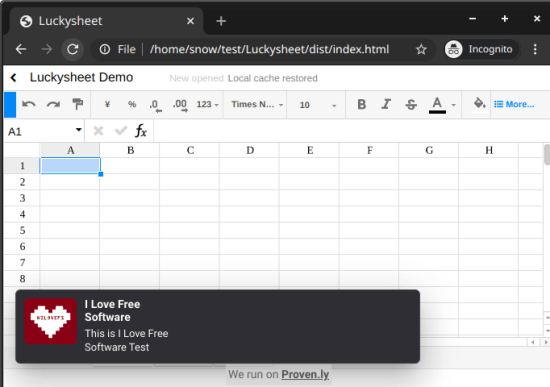Add Popup Notifications to Website using Google Sheets in action