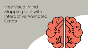 Free Visual Mind Mapping tool with Interactive Animated Cards