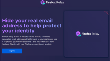 Disposable alias email addresses that forward to your mailbox Firefox Relay