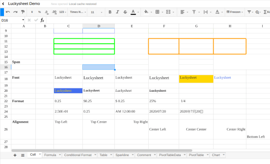Free Self Hosted Alternative to Google Sheets
