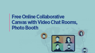 Free Online Collaborative Canvas with Video Chat Rooms, Photo Booth: Here