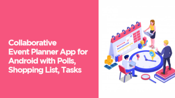 Collaborative Event Planner App for Android with Polls, Shopping List, Tasks