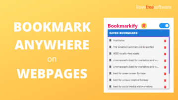 How to Bookmark Anywhere on Webpages?