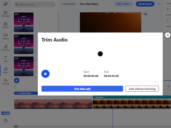 video editor for digital creators