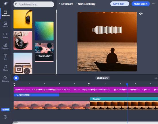 online video editor like canva