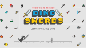 Play Google Chrome's Dino Game with 26 Different Weapons