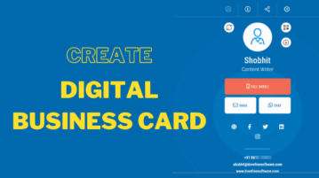 Create Digital Business Card Online with Email Signature for Free