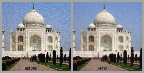 remove noise from images using ai