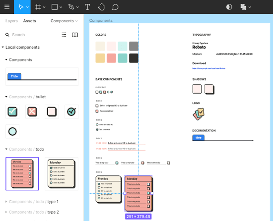 add notes to Figma desings