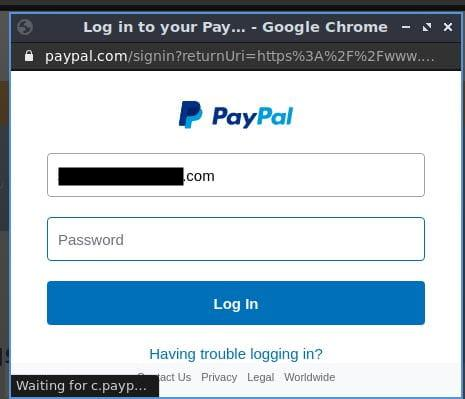 paypal auth