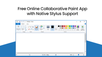 Free Online Collaborative Paint App with Native Stylus Support
