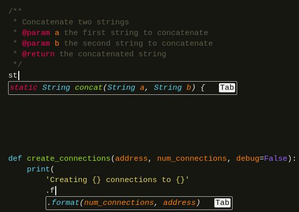 GPT Based Code Completion Plugin for VS Code, Sublime, Atom, Vim