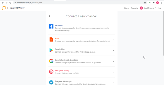 Choose Communication platforms