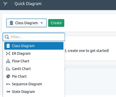 Quick Diagram main UI
