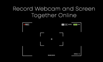 Record Webcam and Screen Together Online