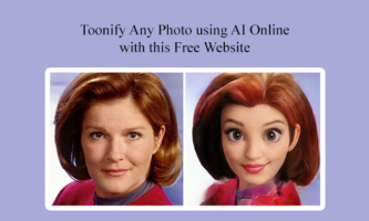 Toonify Any Photo using AI Online with this Free Website