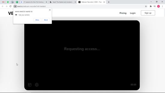 Access permission