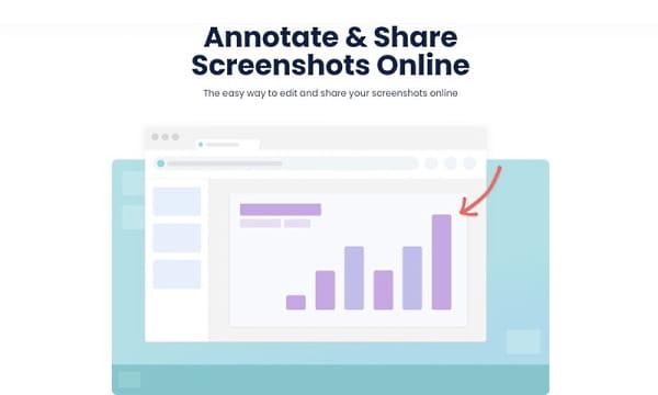 Free Web-based Screenshot Annotator with Online Screenshot Sharing