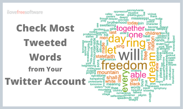 Check the Most Tweeted Words from a Twitter Account