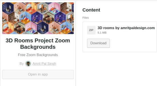 download 3d bakgrounds zoom