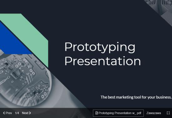 presentation in commentscreen
