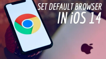 How to Set Chrome as Default Browser in iOS 14?