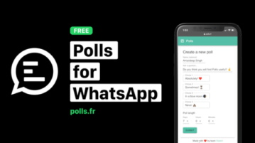 Create and Share Polls on WhatsApp